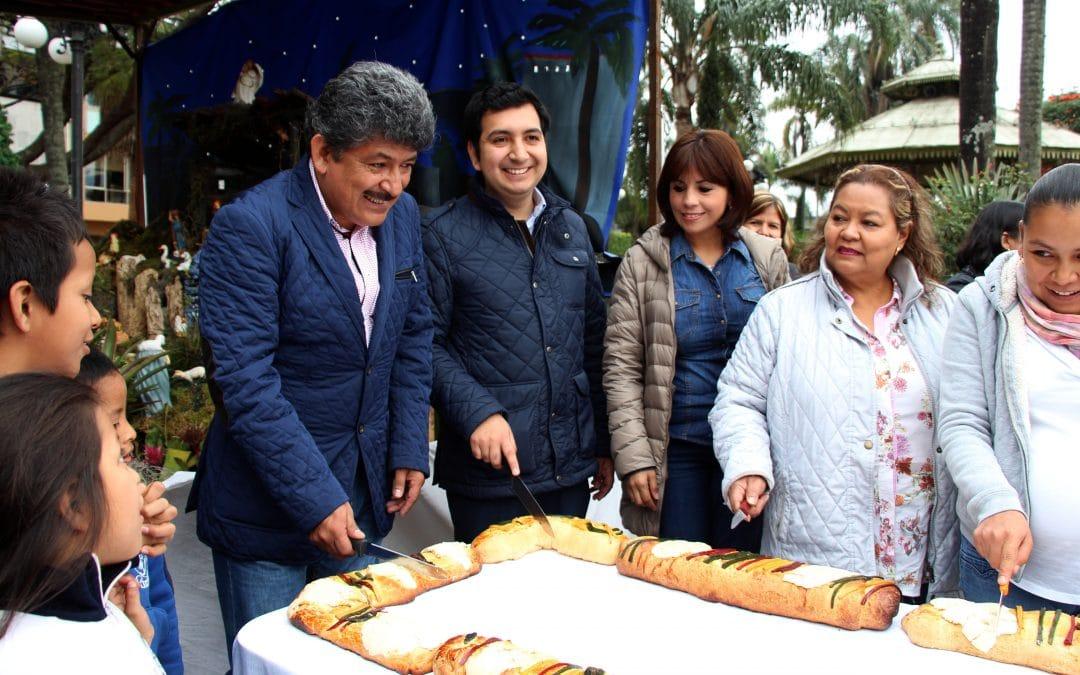 La rosca de reyes más grande de Ciudad Mendoza