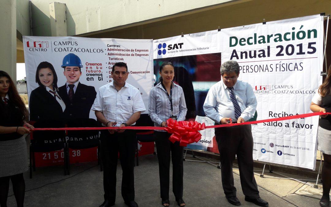 Módulo SAT en UGM Campus Coatzacoalcos