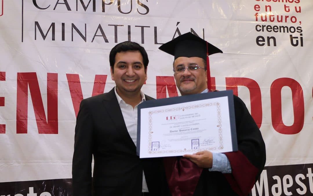 Entrega UGM Doctorado Honoris Causa