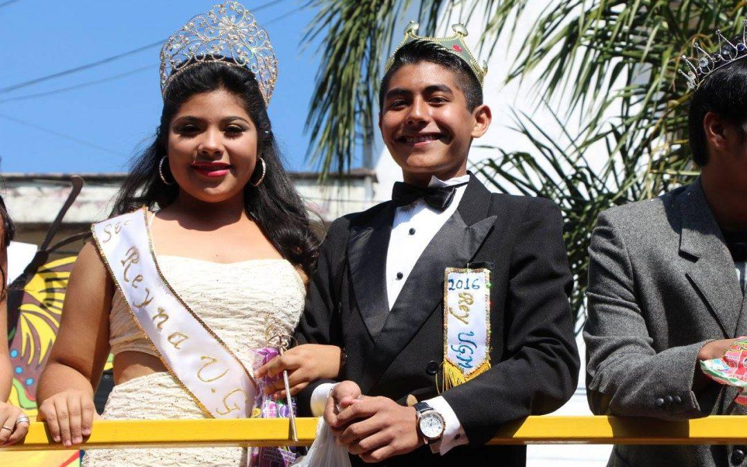 Celebra UGM Centro a la Primavera con alegre desfile