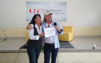 Imparte conferencia Troy Walker en UGM Mendoza