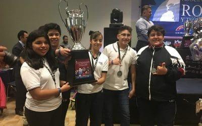 Gana UGM Secundaria plantel Cd. Mendoza en competencia de robótica