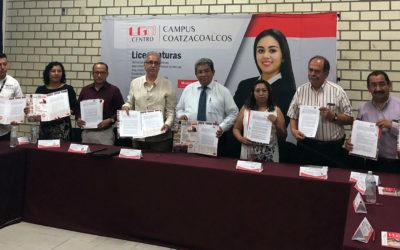 Firma UGM Coatzacoalcos convenios para servicio social y residencias