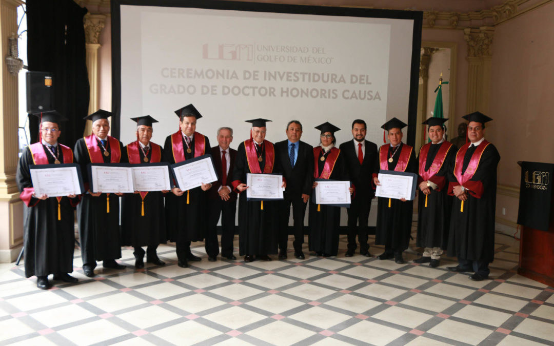 Entrega UGM Doctorados Honoris Causa